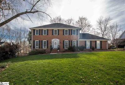 Greenville Single Family Home Contingency Contract: 212 Burning Bush