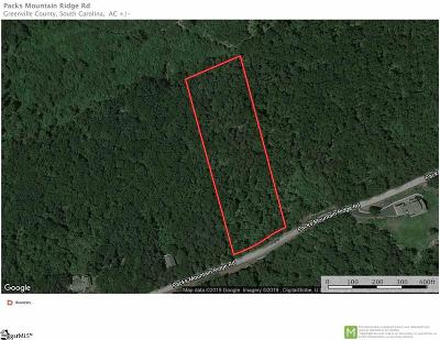 Taylors Residential Lots & Land Contingency Contract: Packs Mountain Ridge