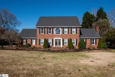 Easley Single Family Home For Sale: 104 Pine Ridge