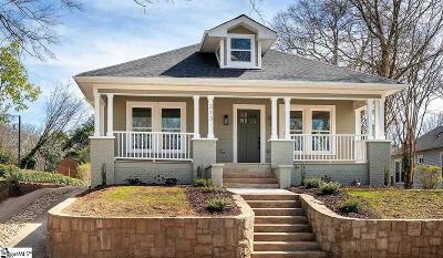 Greenville Single Family Home Contingency Contract: 313 Grove