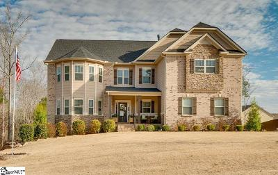 Fountain Inn Single Family Home Contingency Contract: 215 Ivy Woods