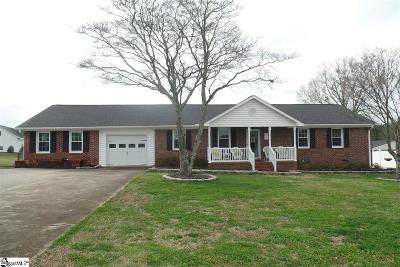 Piedmont Single Family Home For Sale: 515 Old Williamston