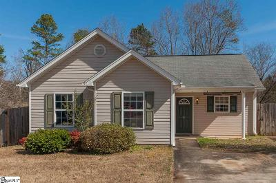 Greenville Single Family Home Contingency Contract: 107 Denali
