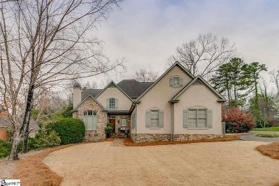 Greenville Single Family Home For Sale: 117 Hidden Hills