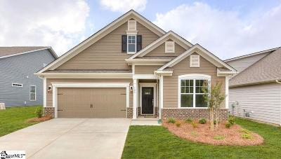 Boiling Springs Single Family Home For Sale: 874 Deepwood #Lot 83
