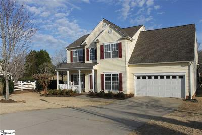 Easley Single Family Home For Sale: 101 Timber Trace