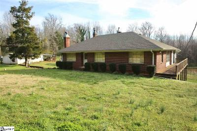 Greenville Single Family Home For Sale: 3498 State Park