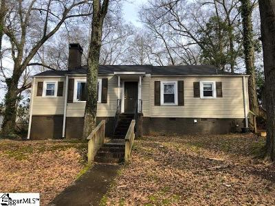Greenville Single Family Home Contingency Contract: 11 Biltmore
