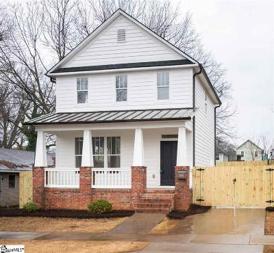 Greenville Single Family Home Contingency Contract: 309 Echols