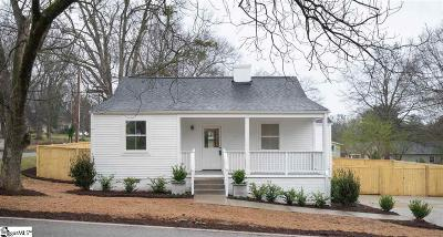 Greenville Single Family Home Contingency Contract: 101 Keith