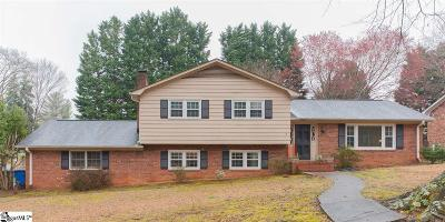 Greenville Single Family Home For Sale: 717 Richbourg