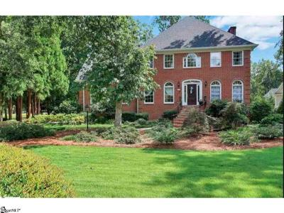 Easley Single Family Home For Sale: 107 Deer Wood