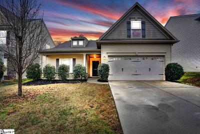 Simpsonville Single Family Home Contingency Contract: 140 Portland Falls