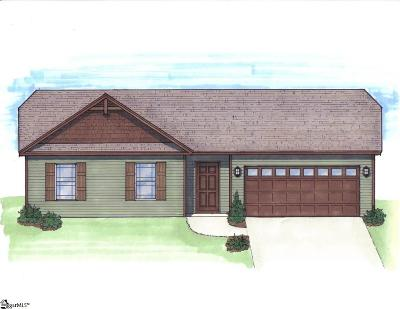 Boiling Springs Single Family Home For Sale: 672 Ivywood #Lot 111