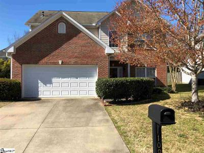 Simpsonville Single Family Home For Sale: 109 Skipping Stone