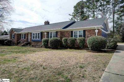 Greenville Single Family Home For Sale: 15 Oriole