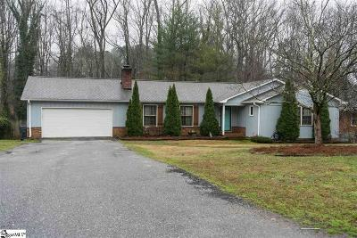 Spartanburg Single Family Home Contingency Contract: 834 Thackston