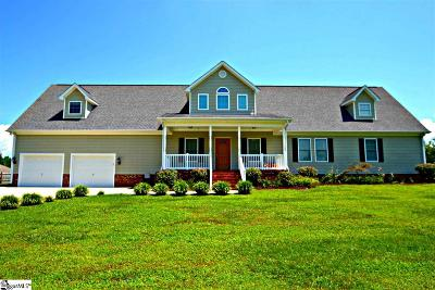 Easley Single Family Home For Sale: 202 Clear Creek