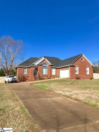 Greer Single Family Home Contingency Contract: 221 Sharon
