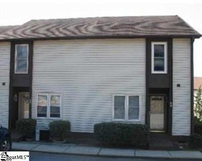 Simpsonville Condo/Townhouse For Auction: 3210 Bethel #60