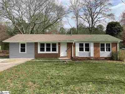 Fountain Inn Single Family Home Contingency Contract: 115 Havendale