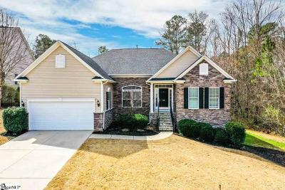 Simpsonville Single Family Home Contingency Contract: 22 Hydrangea