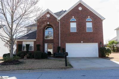 Taylors Single Family Home For Sale: 113 Eagle Pass