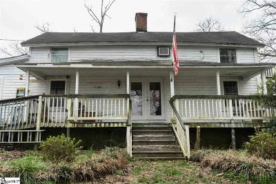Spartanburg Single Family Home For Sale: 211 Stone Hill