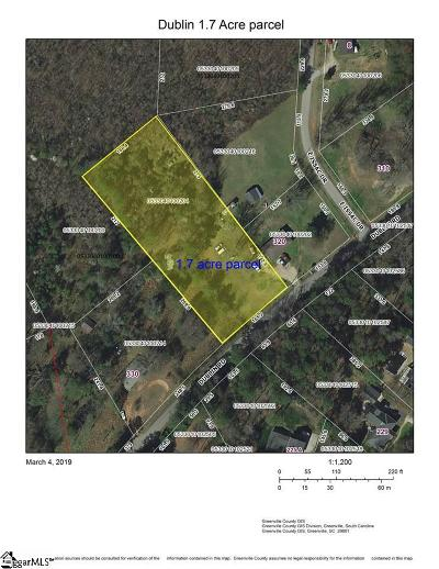 Greenville Residential Lots & Land For Sale: Dublin