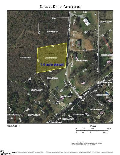 Greenville Residential Lots & Land For Sale: E. Isaac