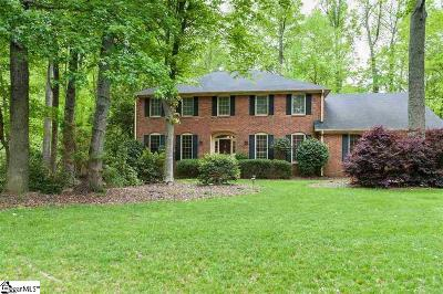 Spartanburg Single Family Home For Sale: 3 Torrey Pines