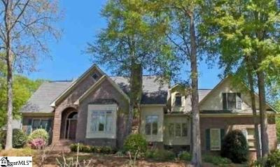 Simpsonville Single Family Home Contingency Contract: 204 Deer Spring