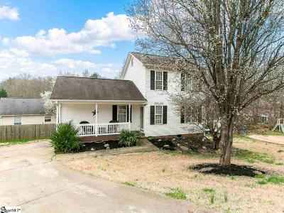 Boiling Springs Single Family Home Contingency Contract: 118 Wonderberry