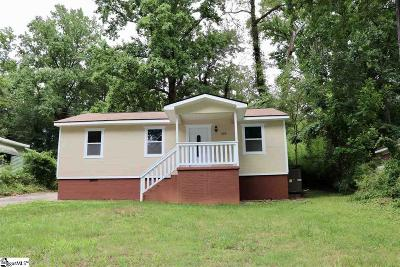 Greenville Single Family Home For Sale: 429 Crosby