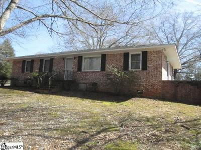 Laurens Single Family Home For Sale: 3388 Burnt Mill Creek