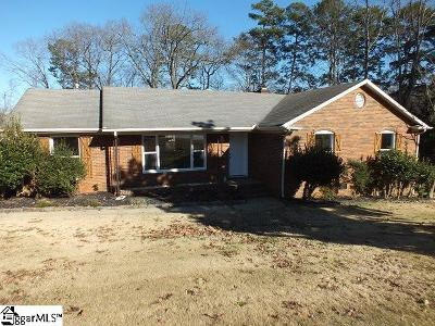 Spartanburg Single Family Home For Sale: 105 Manchester