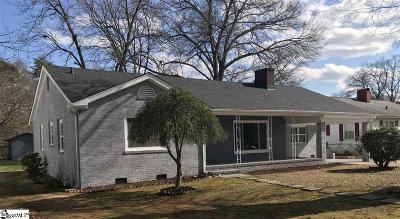 Spartanburg Single Family Home Contingency Contract: 111 Collins