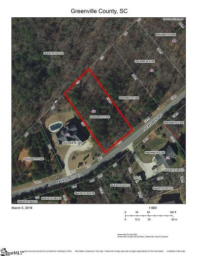 Taylors Residential Lots & Land For Sale: 56 Packforest