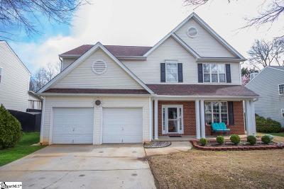 Greenville Single Family Home Contingency Contract: 112 Whixley