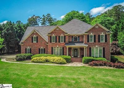 Spartanburg Single Family Home For Sale: 354 Hidden Creek