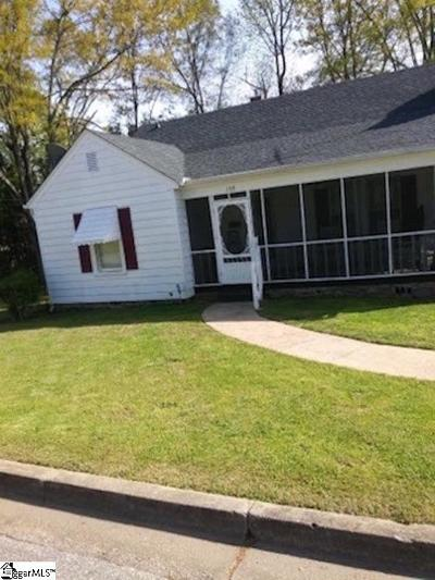 Greer Single Family Home Contingency Contract: 105 Connecticut