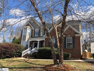 Simpsonville Single Family Home For Sale: 12 Whiffletree