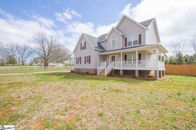 Pelzer Single Family Home For Sale: 409 Ballard
