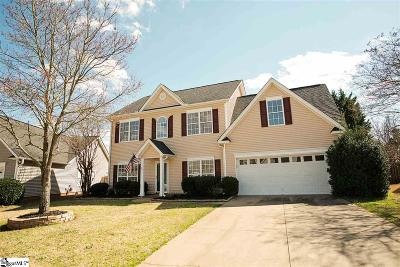 Simpsonville Single Family Home For Sale: 215 Teaticket