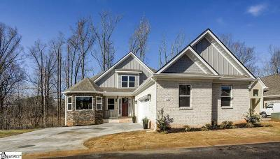 Greenville Single Family Home For Sale: 63 Park Vista