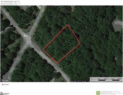 Laurens Residential Lots & Land For Sale: W Peninsula
