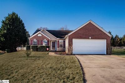 Fountain Inn Single Family Home Contingency Contract: 11 Bates Lake