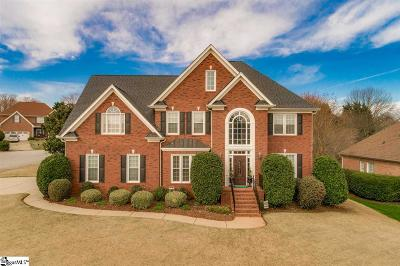 Greer Single Family Home For Sale: 304 Ladykirk