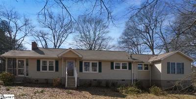 Taylors Single Family Home For Sale: 47 Groce Meadow