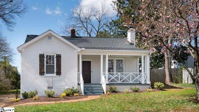Greenville Single Family Home For Sale: 10 Cumberland